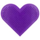 MODA Heart Scrubby szív alakú ecsettisztító