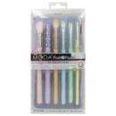 Kép 2/2 - MODA Posh Pastel Kit 7 darabos ecsetszett  2