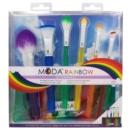 Kép 2/4 - moda rainbow kit 7 darabos ecsetszett 2