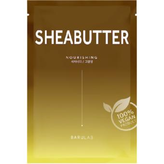The Clean Vegan Sheabutter bőrtápláló fátyolmaszk sheavajjal