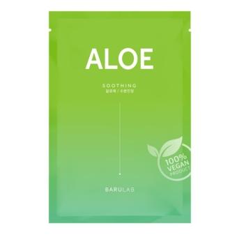The Clean Vegan Aloe bőrnyugtató maszk irritáció ellen aloe verával