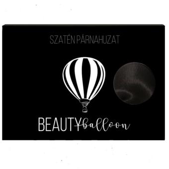 beauty balloon szaten huzat fekete