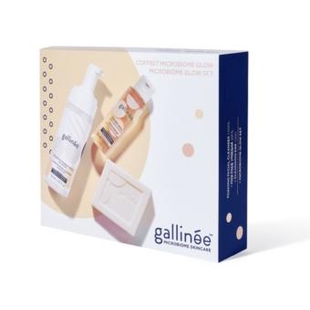 Gallinée Microbiom Glow bőrtisztító szett
