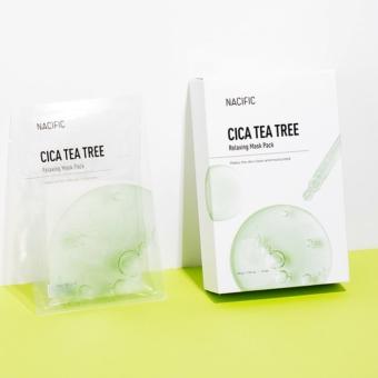 Nacific Cica Tea Tree Relaxing teafaolajas bőrnyugtató maszk