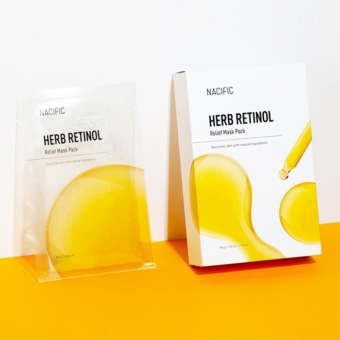 Nacific Herb Retinol Relief bőrfeszesítő maszk