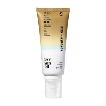 Dry Sun Oil SPF30 száraz napolaj arcra, testre és hajra