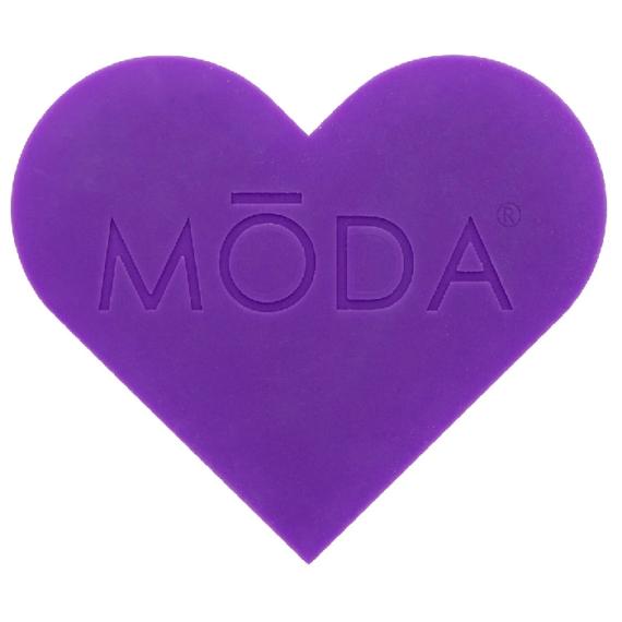 MODA Heart Scrubby szív alakú ecsettisztító 2
