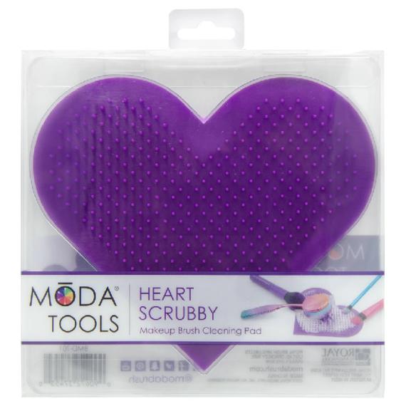 MODA Heart Scrubby szív alakú ecsettisztító 3