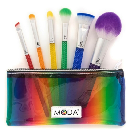 moda rainbow kit 7 darabos ecsetszett 3