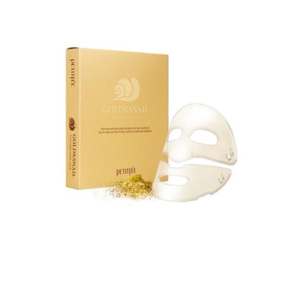 gold-&-snail-hidrogel-ragyogast-fokozo-arcmaszk-csomag 2