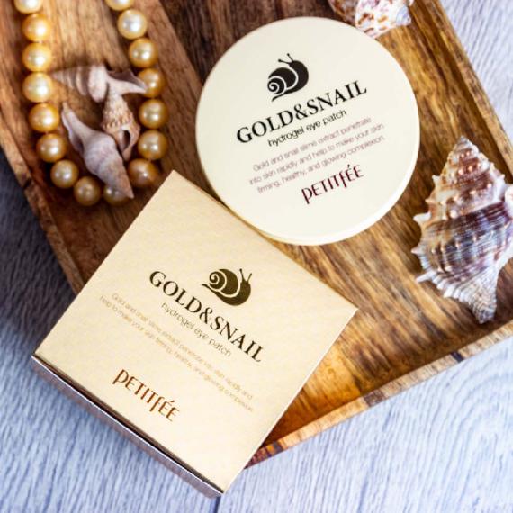 petitfee-gold-&-snail-hidrogel-szemkornyekapolo-tapasz-csiganyalkivonattal 2