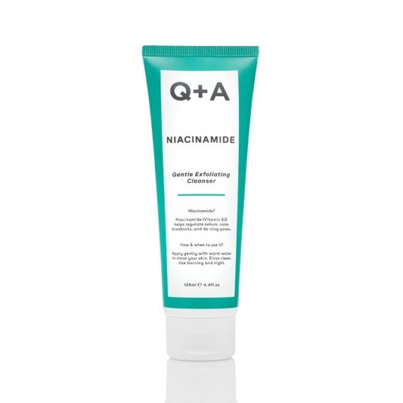 QA Gyengéden hámlasztó niacinamidos arctisztító
