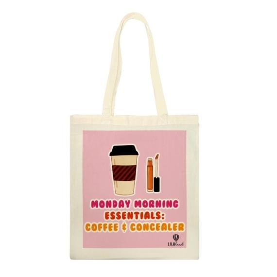 Vászontáska: Monday Morning Essentials
