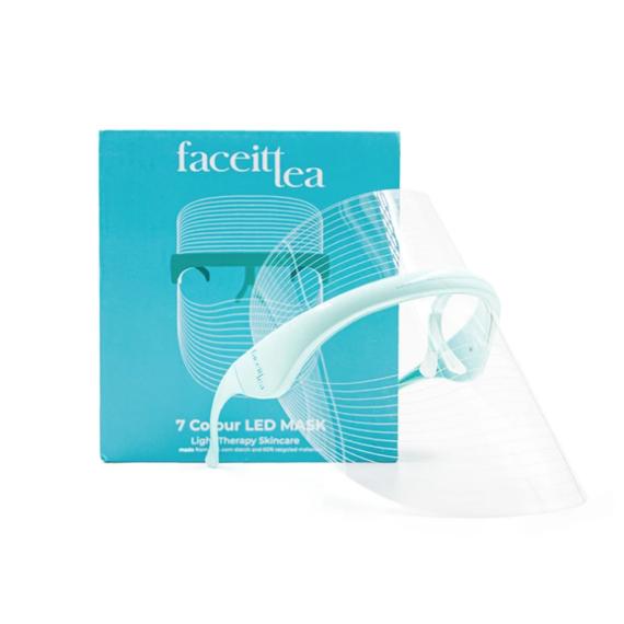 FaceItTea 7 színű LED fényterápiás maszk